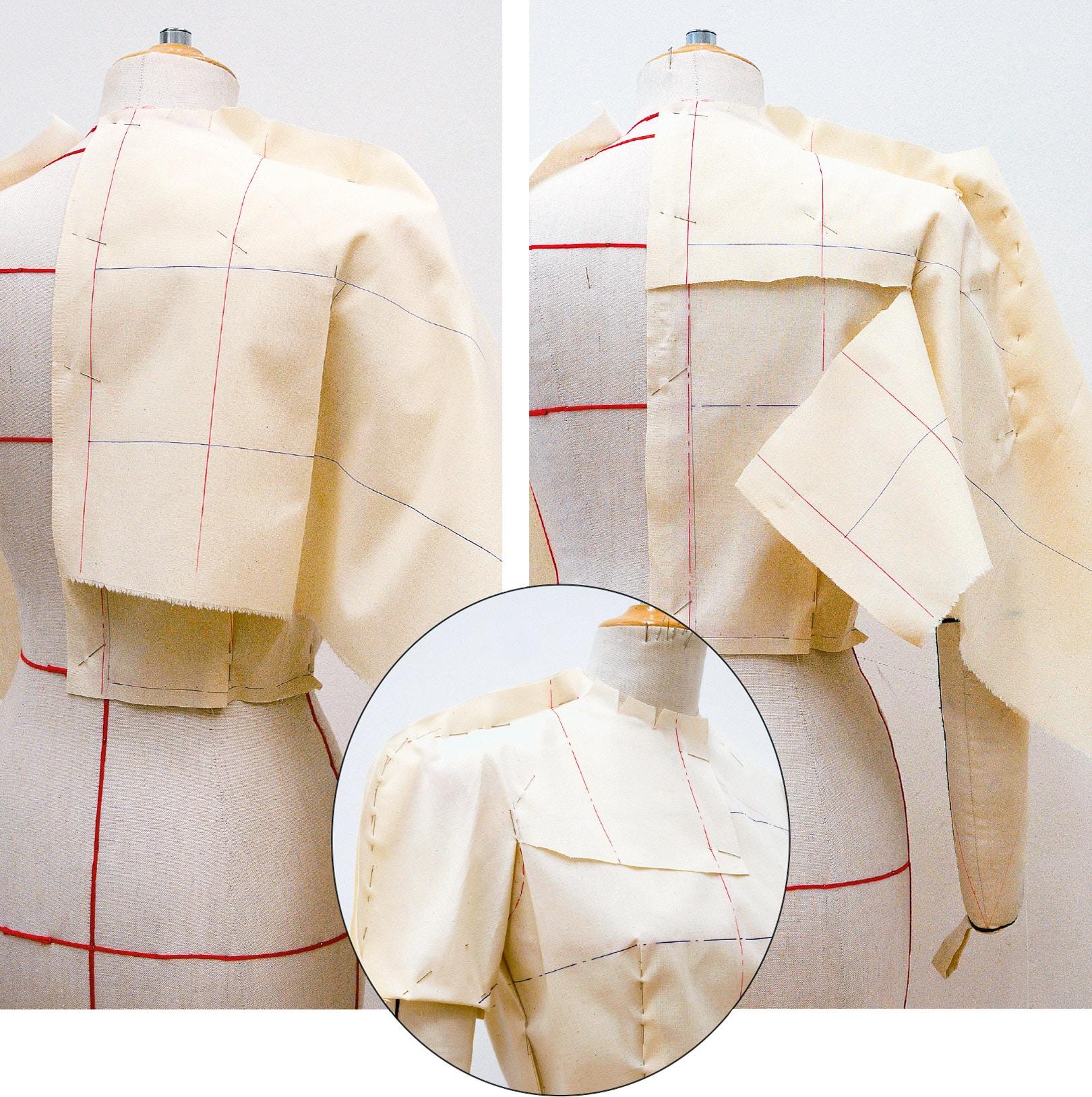 Kleid Drapage Tutorial Step 21-23