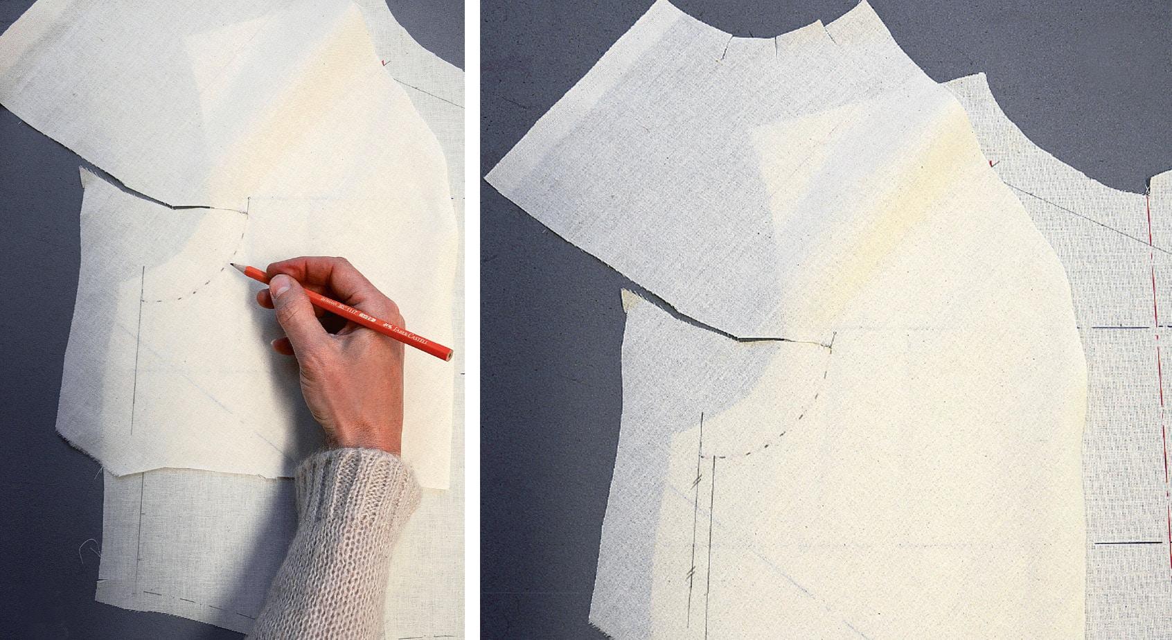 Kleid Drapage Tutorial Step 26-27