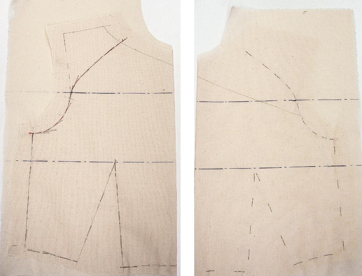 Kleid Drapage Tutorial Step 29-30