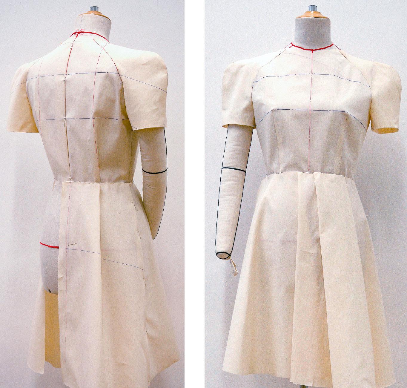 Kleid Drapage Tutorial Step 33-34