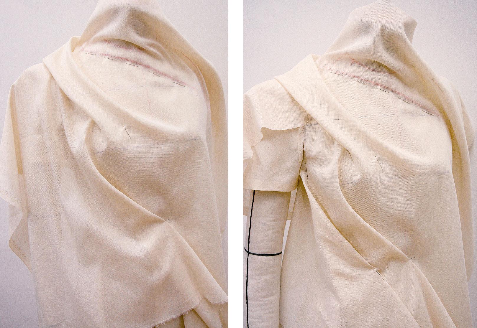 Kleid Drapage Tutorial Step 37-38