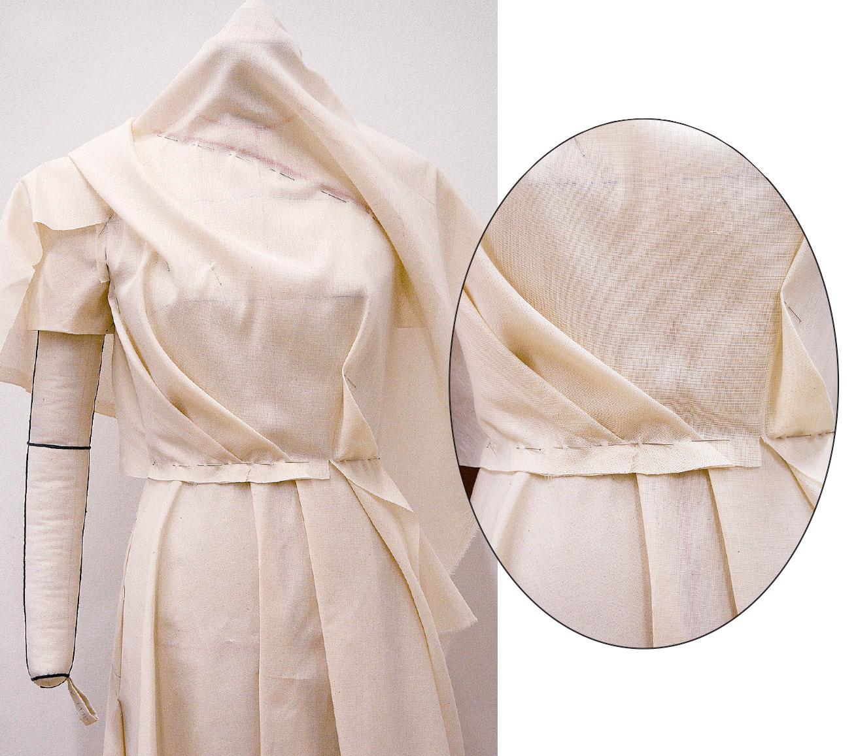 Kleid Drapage Tutorial Step 39-40