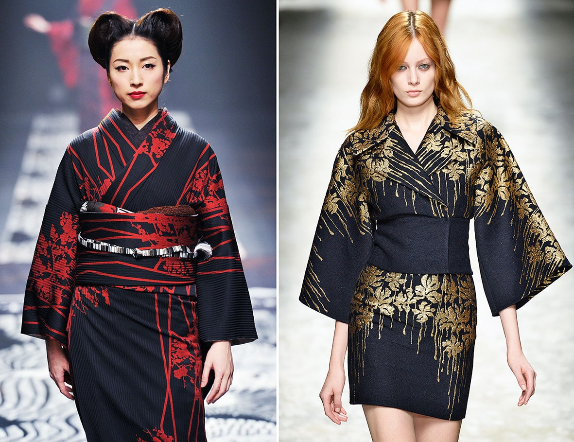 Kimono von Jotaro Saito und Blumarine