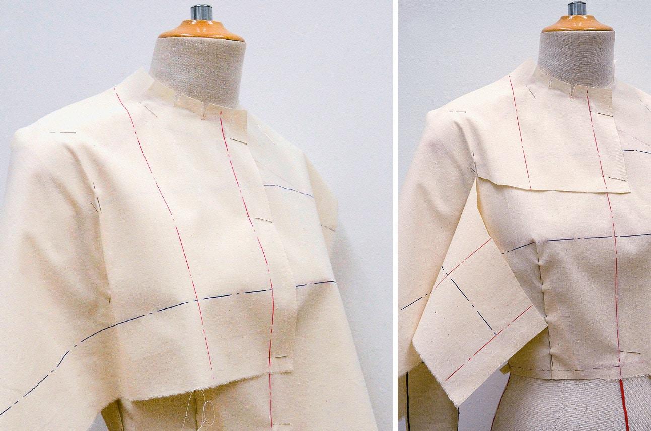 Kleid Drapage Tutorial Step 17-18