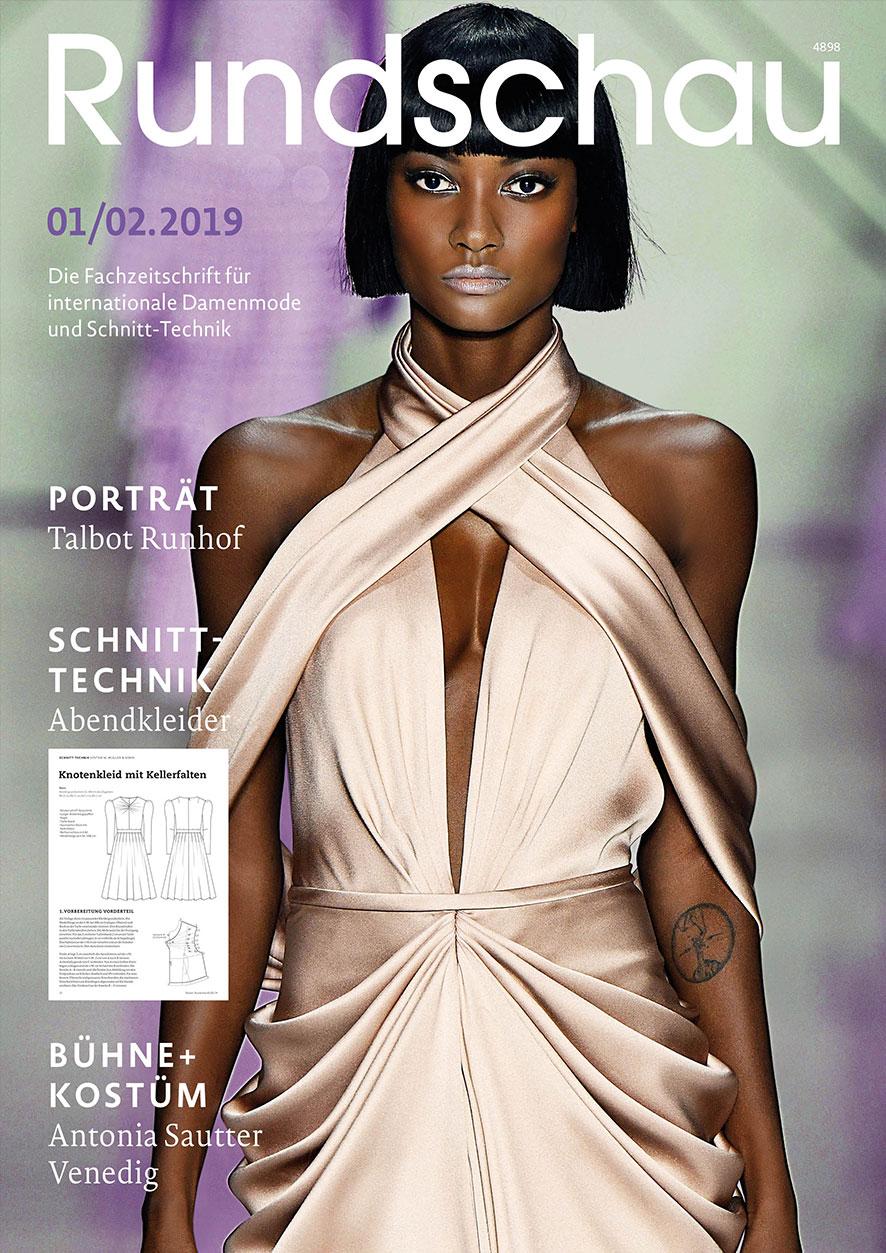 Produkt: Rundschau für Internationale Damenmode 1-2.2019
