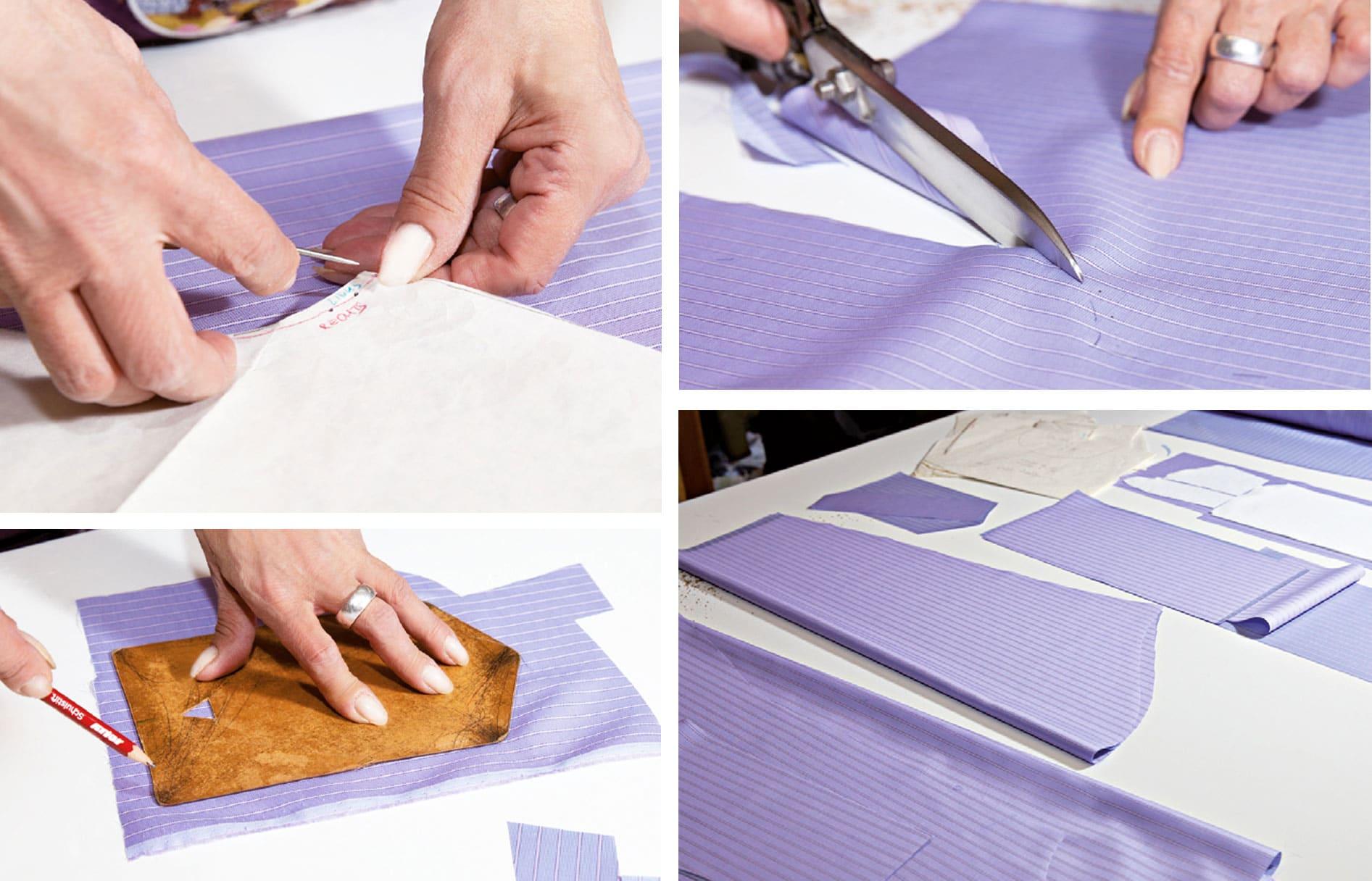 Herstellung eines Maßhemds