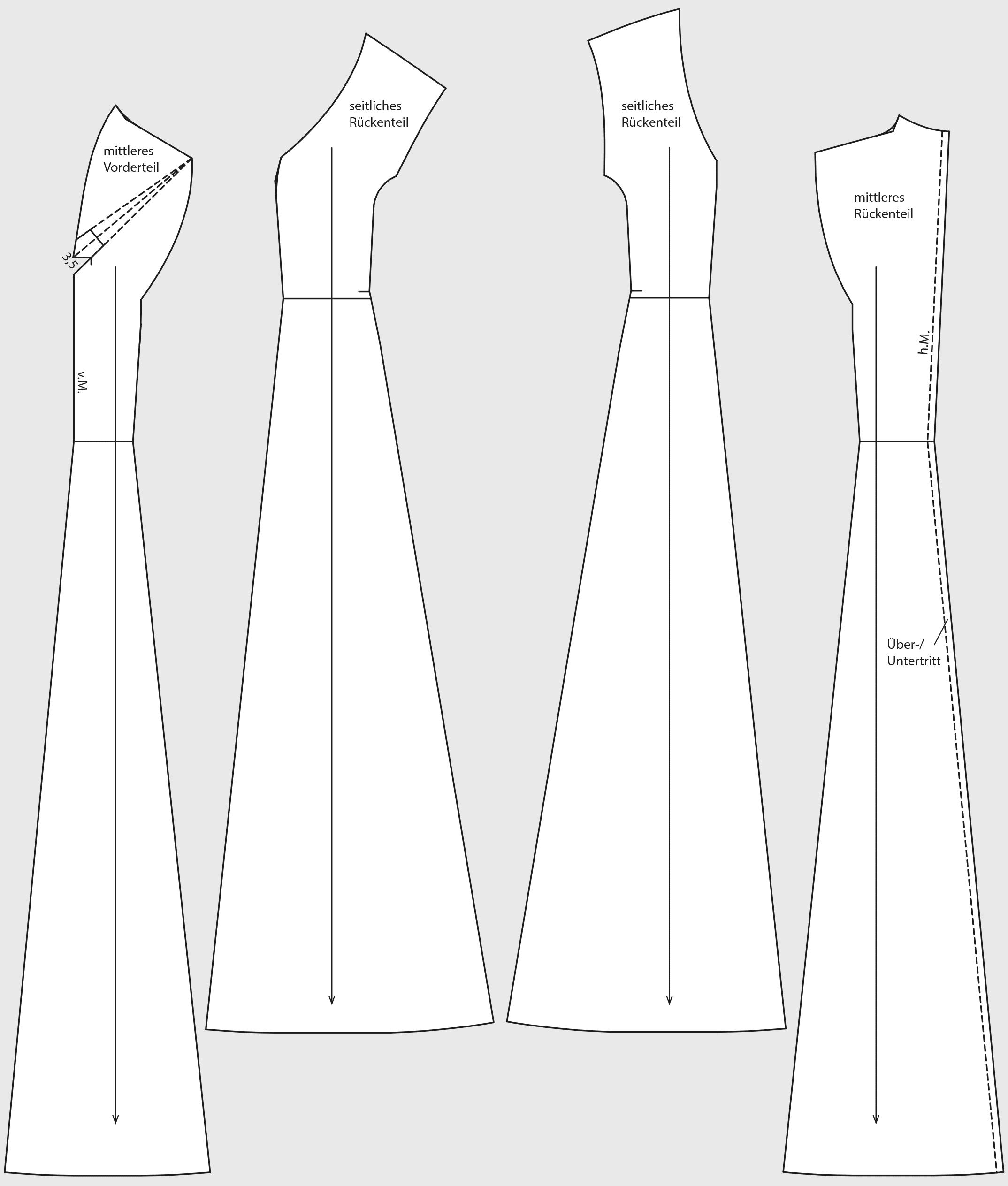 Schnitttechnik Fertige Schnittteile