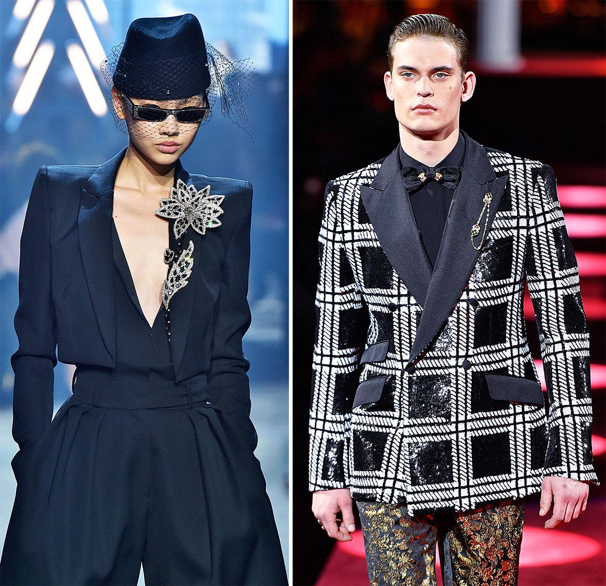 Broschen Inspiration: Vauthier und Dolce & Gabbana