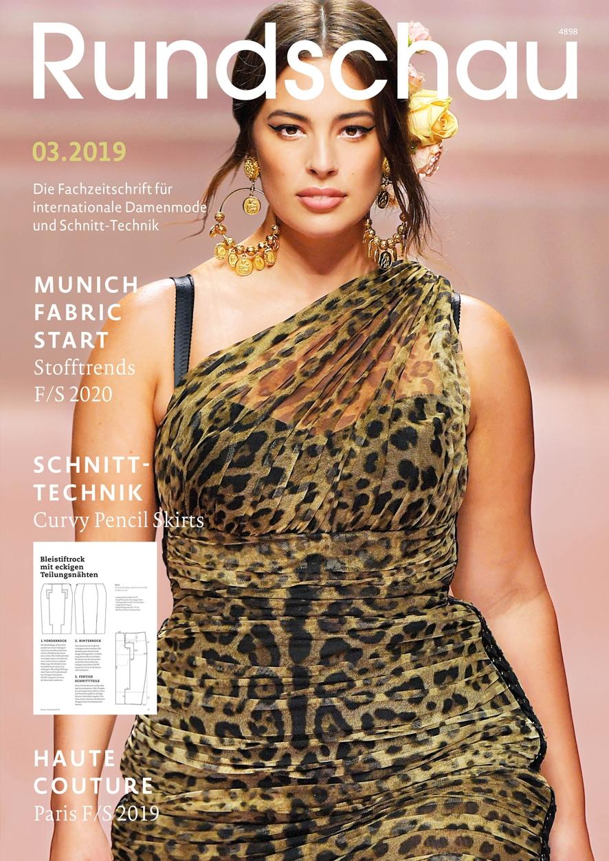 Produkt: Rundschau für Internationale Damenmode 03.2019