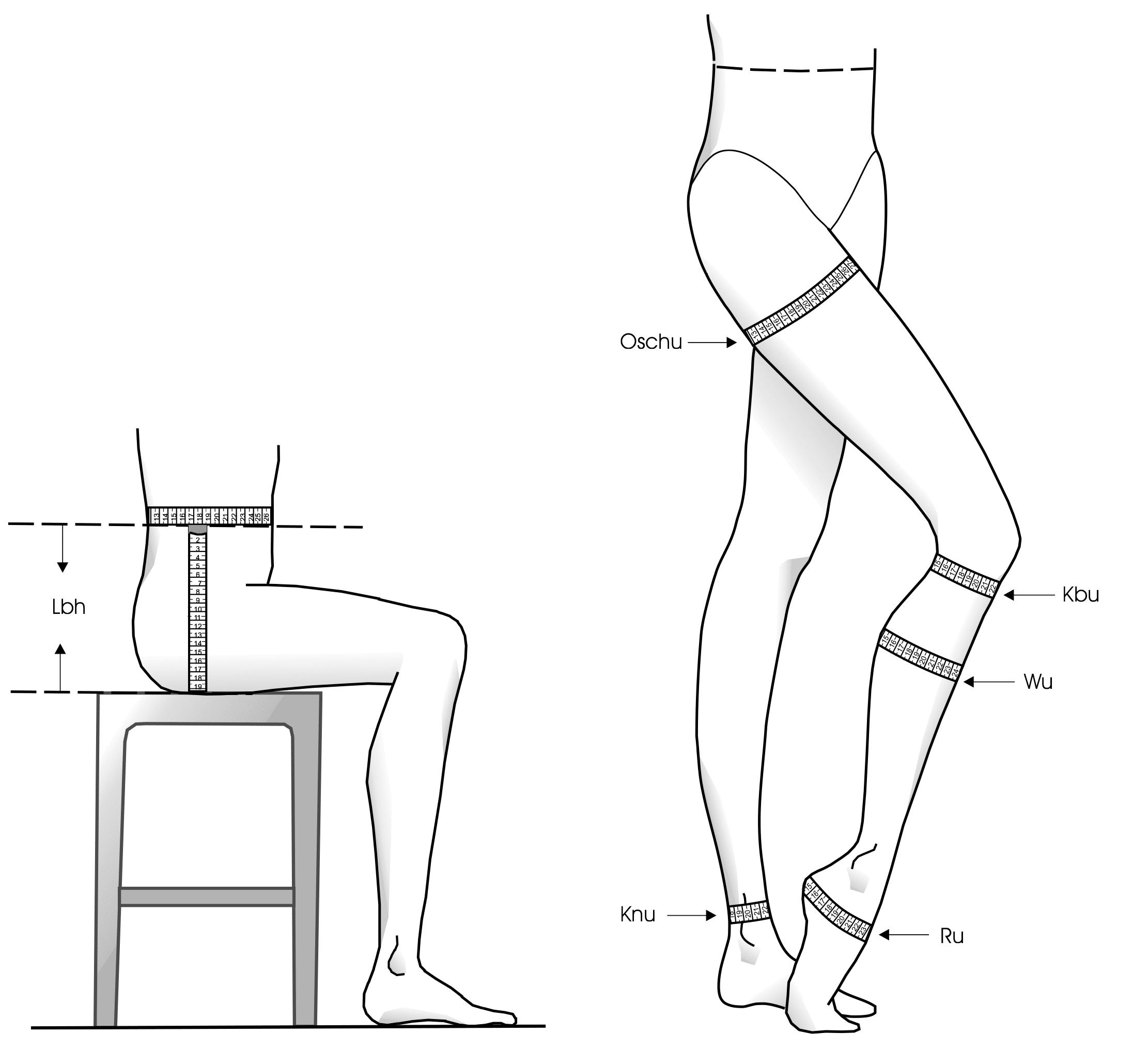 Maßnehmen Damen Hose