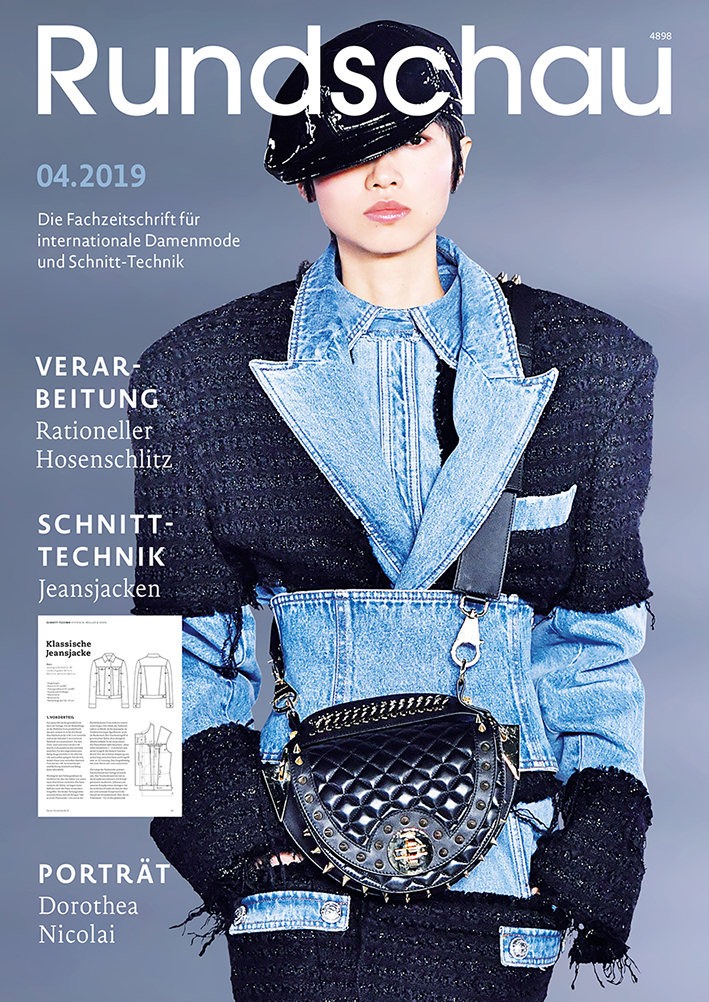 Produkt: Rundschau für Internationale Damenmode 04.2019