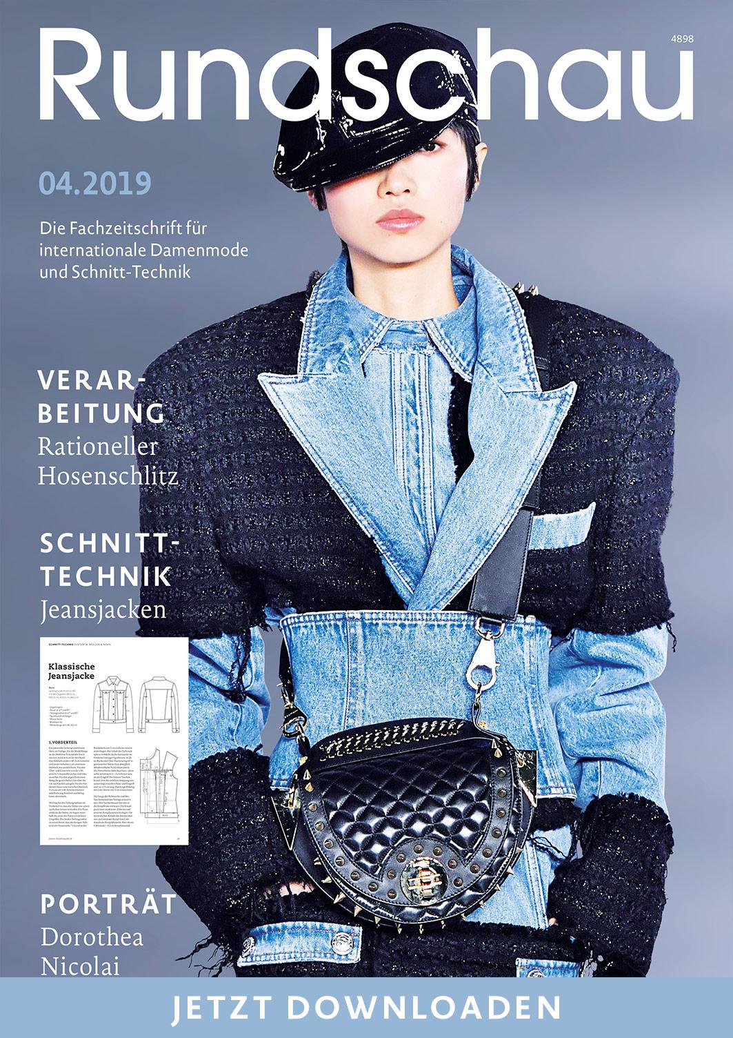 Titel Schnellansicht der Fachzeitschrift für internationale Damenmode und Schnitt-Technik