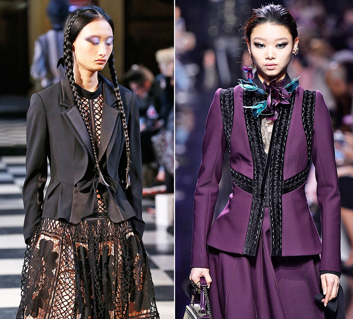 Inspiration Runway: Bora Aksu and Elie Saab