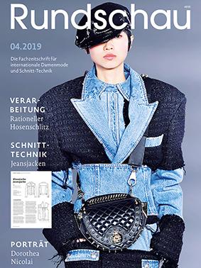 Titel der Fachzeitschrift für internationale Damenmode und Schnitt-Technik