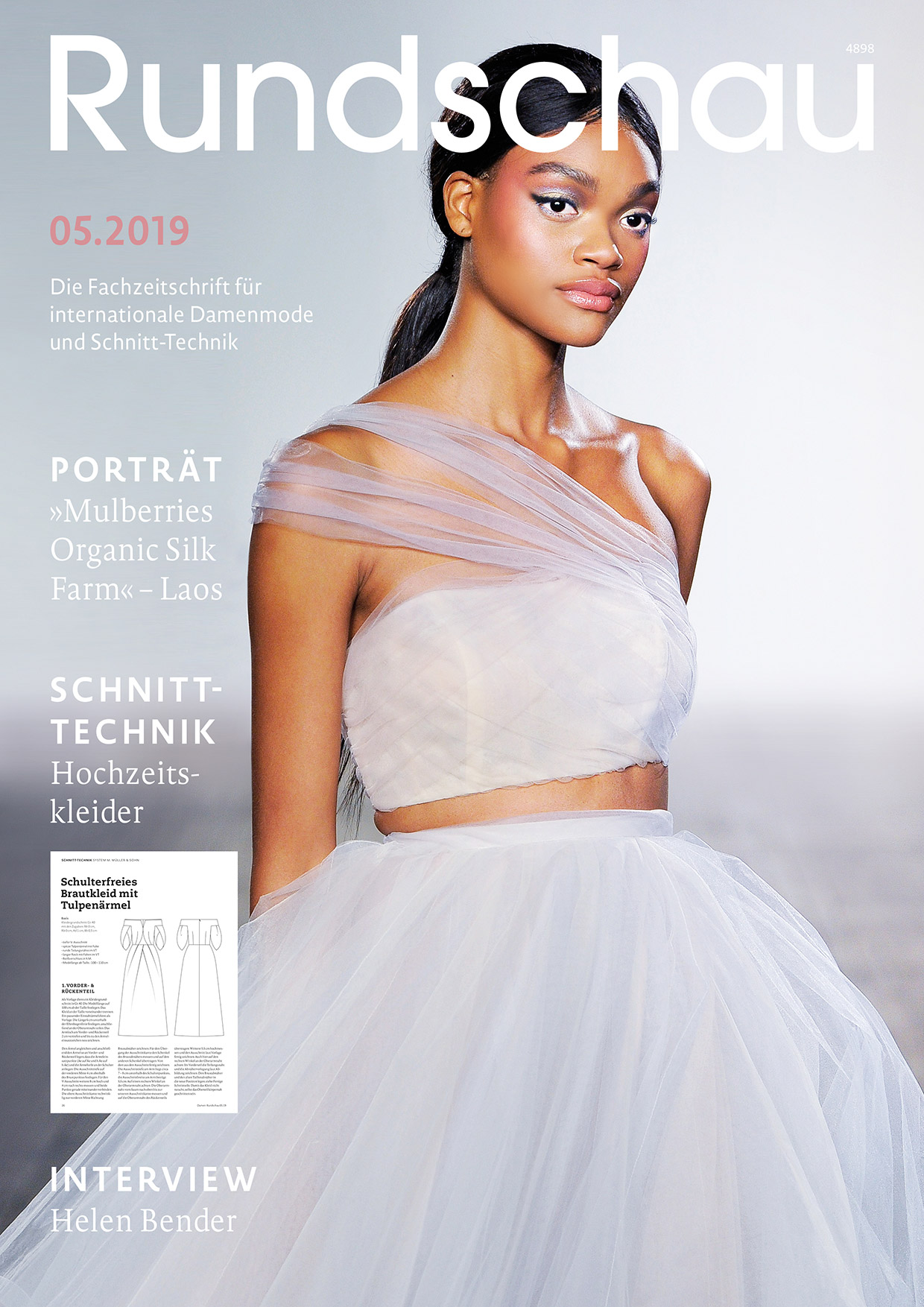 Produkt: Rundschau für Internationale Damenmode 05.2019