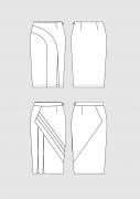 Produkt: Schnittmuster DOB Bleistiftröcke 2