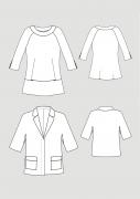 Produkt: PDF-Download: Schnittmuster Blusen