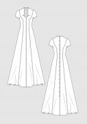 Produkt: PDF-Download: Schnittmuster Brautkleid in A-Linie