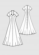 Produkt: Schnittmuster Brautkleid in A-Linie