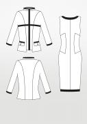 Produkt: Schnittmuster Kleid mit passender Jacke
