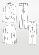 Produkt: Schnittmuster Reitbekleidung