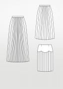 Produkt: Schnittmuster Plisseerock und Faltenrock