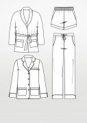Produkt: Schnittmuster Pyjama
