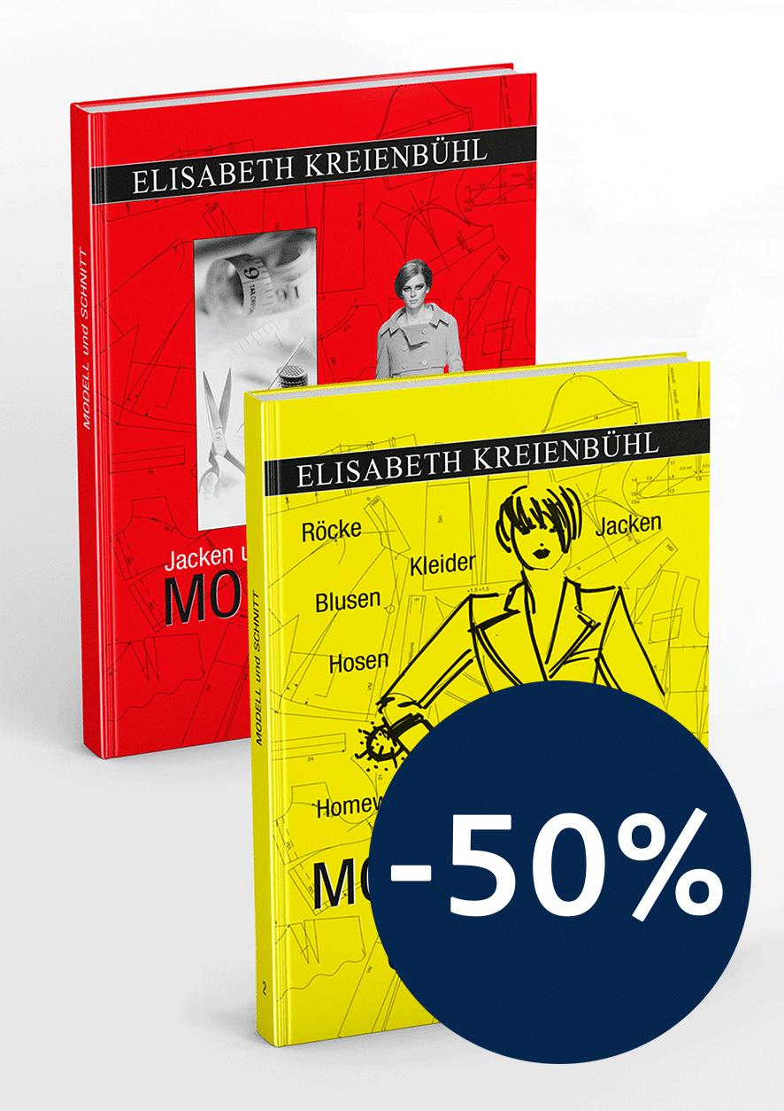 Produkt: Rabattaktion: Fachbücher »Modell & Schnitt 1+2«