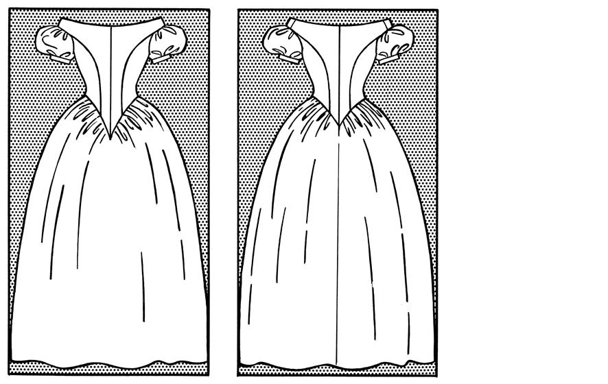 1840 – Biedermeier-Kleid