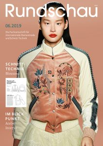 Titel Rundschau für Internationale Damenmode 06.2019