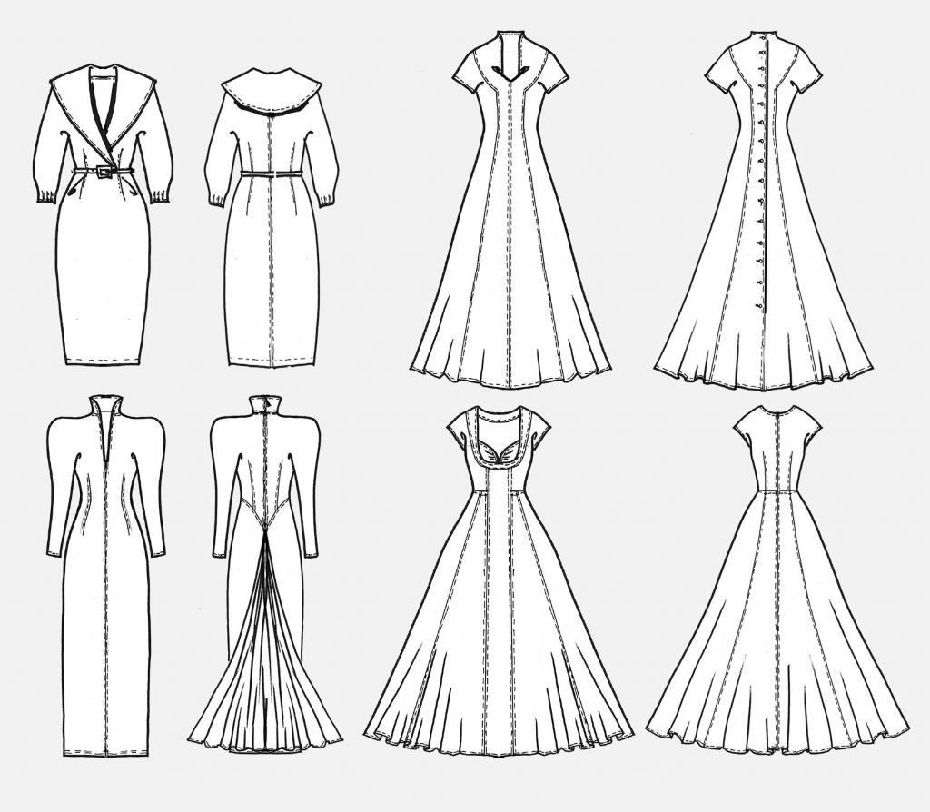 Schnitttechnik Brautkleider