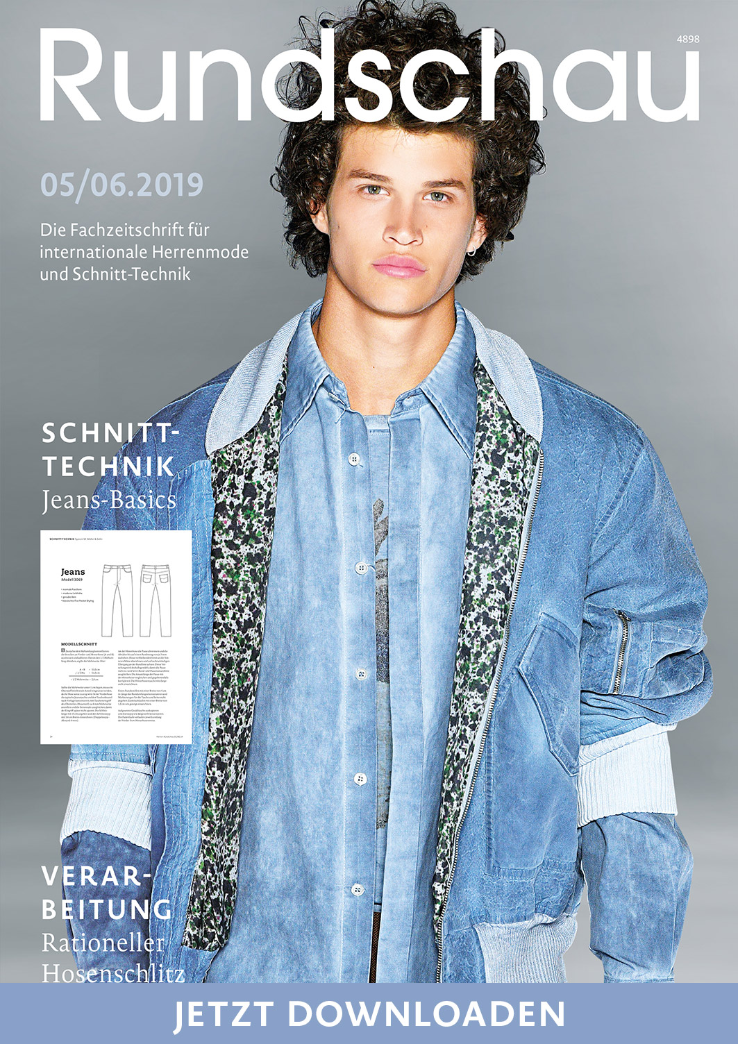 Rundschau für Internationale Herrenmode 5/6.2019