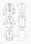 Produkt: PDF-Download: Schnitt-Technik Blusen