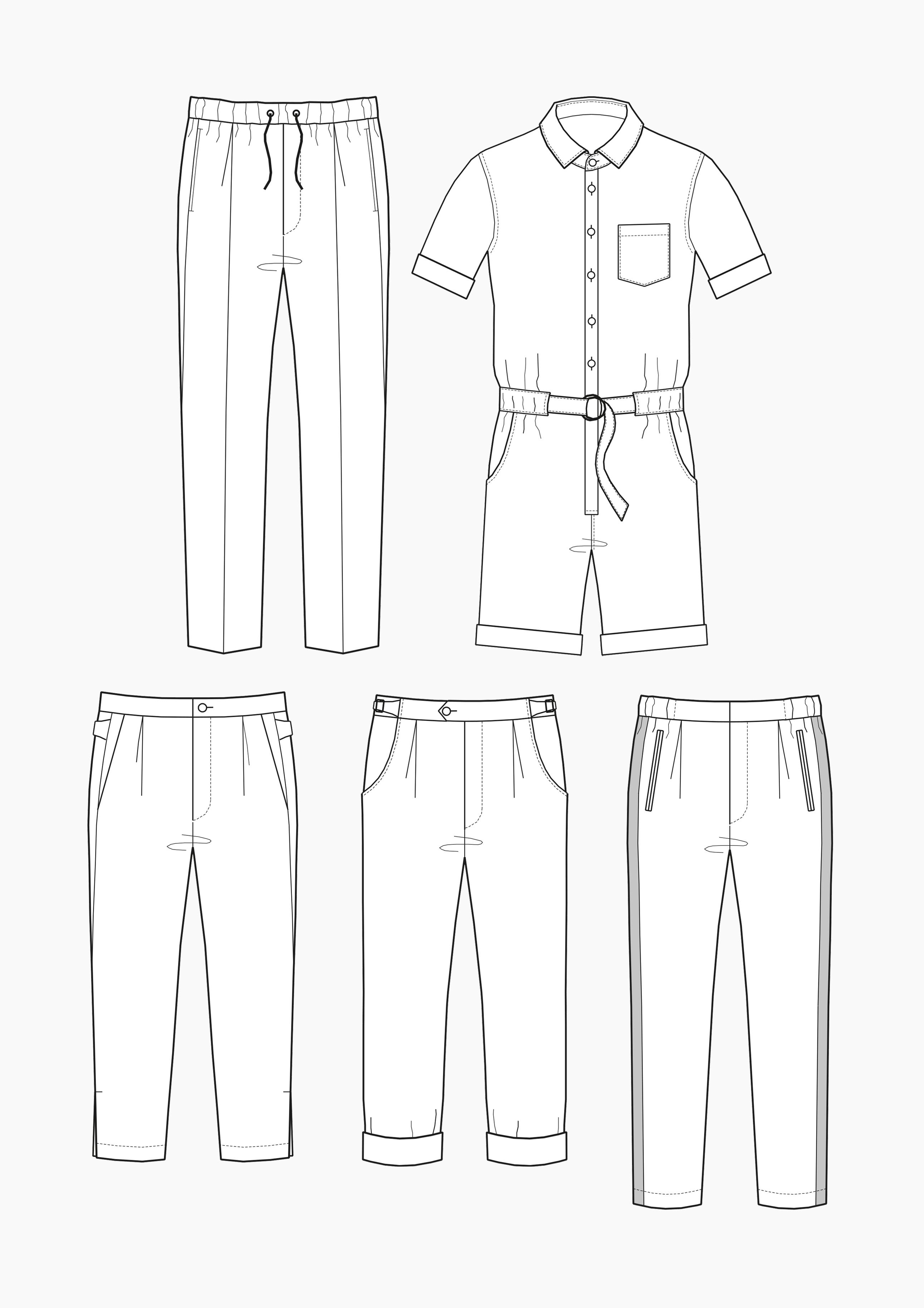 Produkt: Schnitt-Technik Flexible Hosen