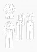 Produkt: Download Schnitt-Technik DOB Jumpsuits