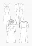 Produkt: Download Schnitt-Technik DOB Kleider im Retro-Stil