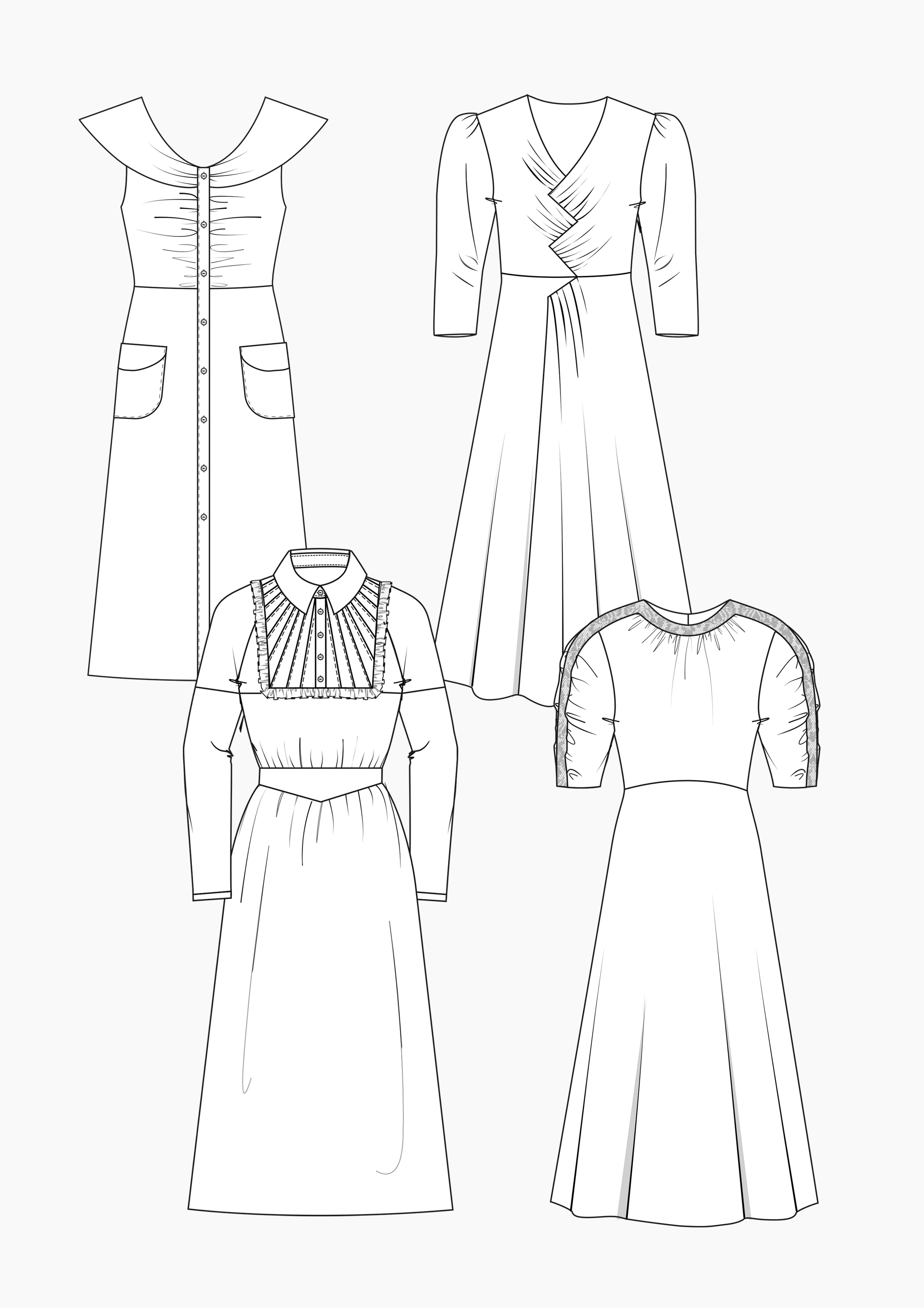 Produkt: Schnitt-Technik Kleider im Retro-Stil