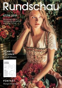 Titel Rundschau für Internationale Damenmode 07/08.2019
