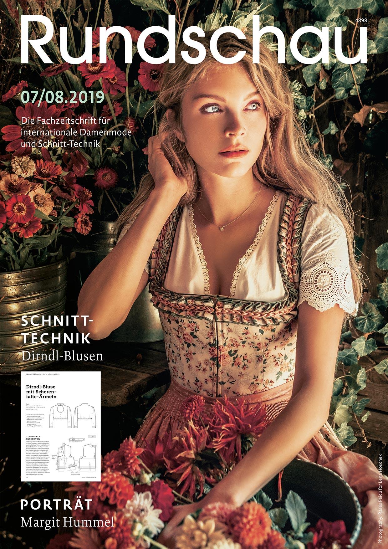 Produkt: Rundschau für Internationale Damenmode 07/08.2019 Digital