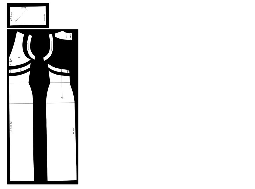 Schnittmuster für Maxikleid