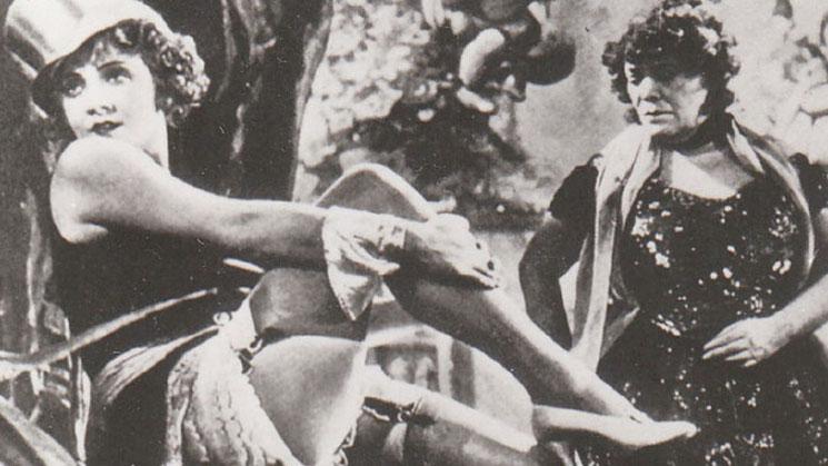 Marlene Dietrich in Dessous