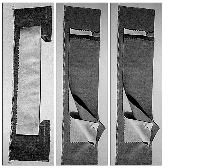 Anleitung zum Nähen einer verdeckten Knopfleiste