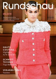 Titel Rundschau für Internationale Damenmode 09.2019