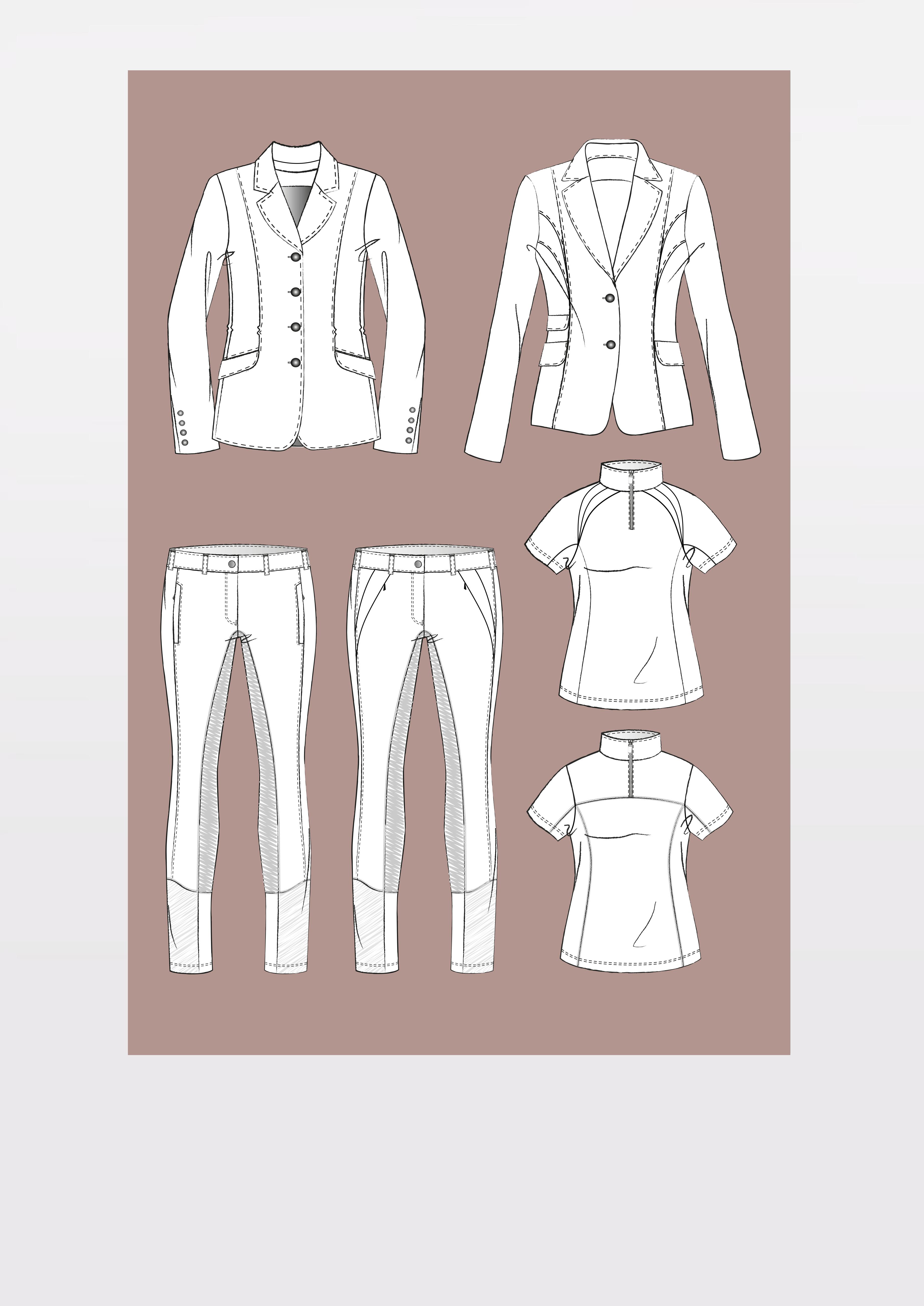 Produkt: Schnitt-Technik Reitbekleidung – Teil 1