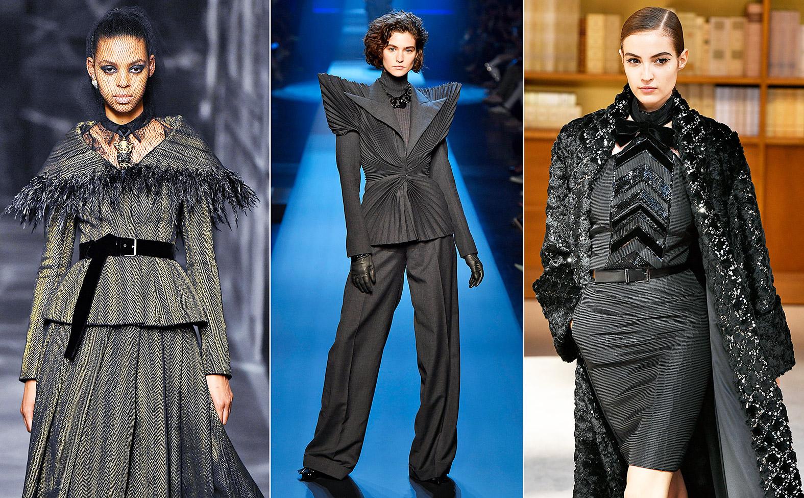 Haute Couture Kleider von Dior, Gaultier und Chanel