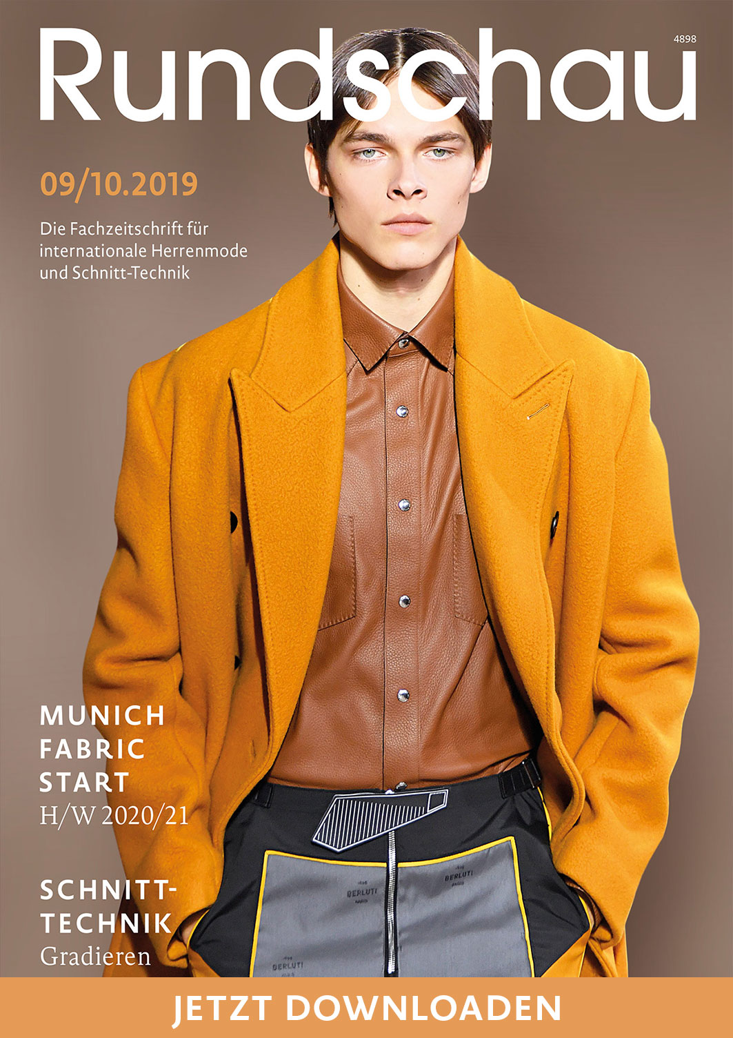 Download der Rundschau für Internationale Herrenmode 9-10.2019