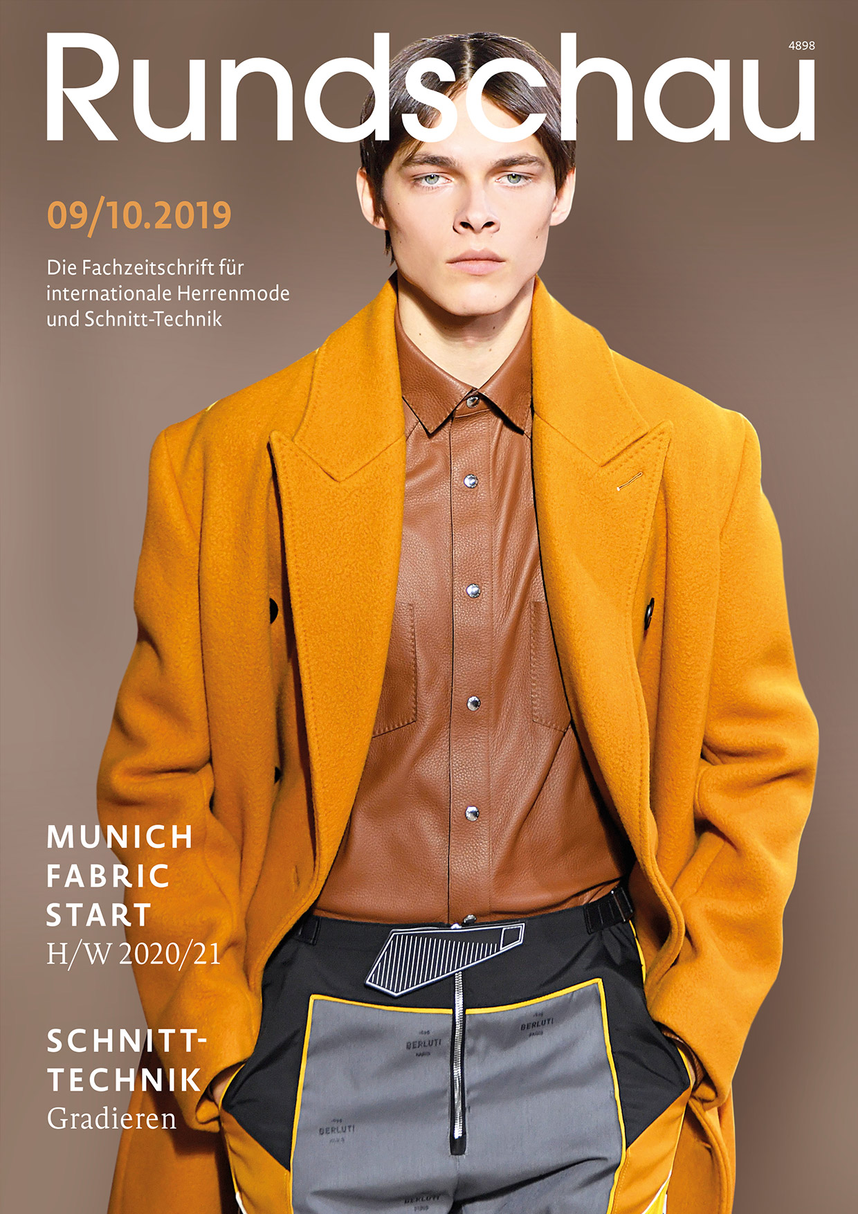 Produkt: Rundschau für Internationale Herrenmode 9-10.2019