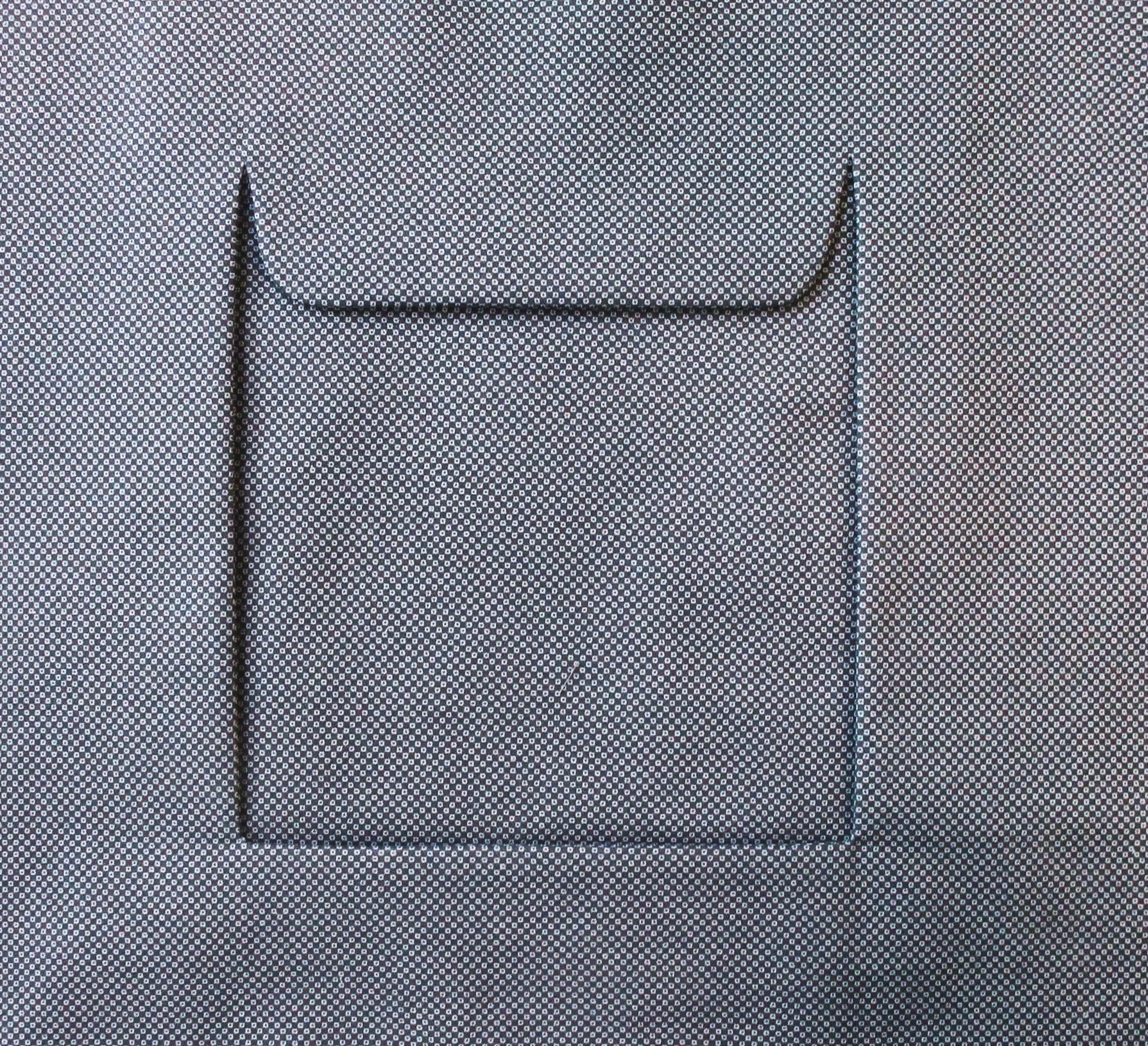 Nähanleitung für rechteckig hinterlegte Eingriffstasche