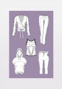 Produkt: Schnitt-Technik Yoga Kleidung