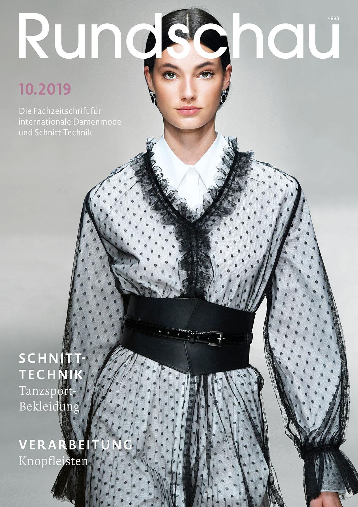 Produkt: Rundschau für Internationale Damenmode 10.2019 Digital